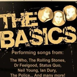 The Basics - band logo/image