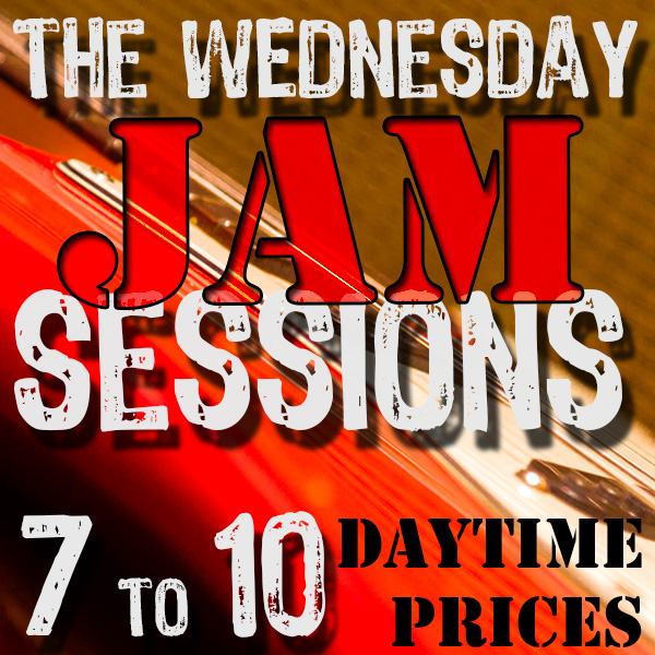 Wednesday Jam Sessions ad