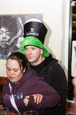 St Patrick's Day at the Bike'N'Hound. Photography by Grey Trilby | Tobias Alexander